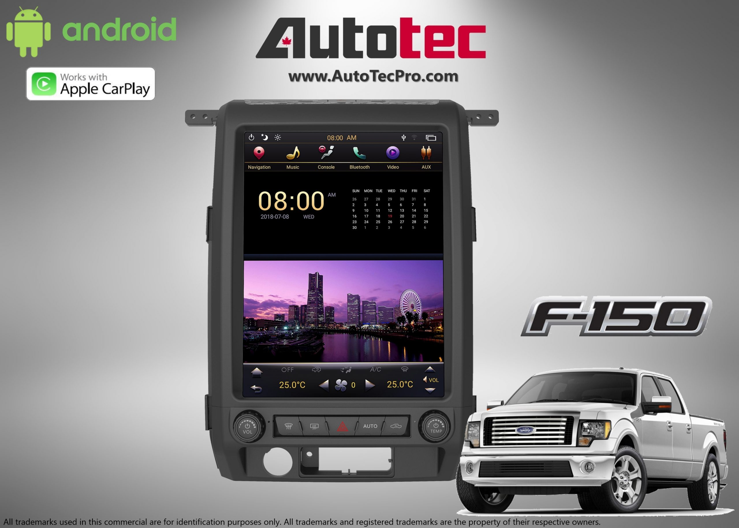 Ford F150  2009  U2013 2012  12 4 U2033 Ips Hd Touch