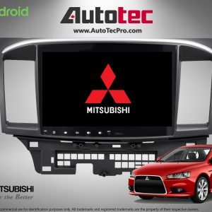 Mitsubishi Lancer (2008 – 2017) Direct-Fit 10.2″ HD Touch-Screen Android Navigation System   GPS   BT   Wifi   A2DP   CAMERA