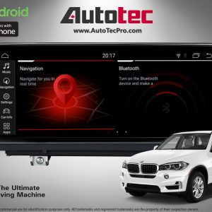 BMW X5/X6 (2007 – 2014) E70 E71 OEM FIT 10.25″ HD Touch-Screen Android Navigation System   GPS   BT   Wifi   A2DP   CAMERA