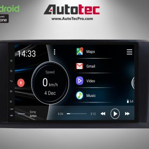 Mercedes-Benz ML / GL ( 2005-2012 ) Direct-Fit 9″ HD Touch-Screen Android Navigation System | Android 10.0 | GPS | BT | WiFi | A2DP | Camera