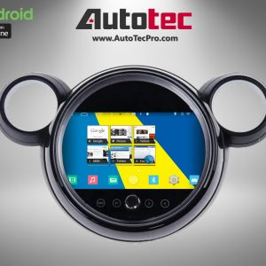 Mini Cooper Country Man OEM FIT 9″ HD Touch-Screen Android Navigation System | GPS | BT | Wifi | Camera | CarPlay