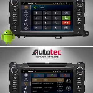 TOYOTA SIENNA (2011 – 2014) OEM FIT 8″ HD Touch-Screen Android DVD Navigation System | GPS | BT | Wifi | A2DP | CAMERA