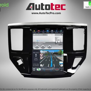 Nissan Pathfinder (2013 – 2019) 10.4″ Tesla Style HD Touch-Screen Android Navigation System | GPS | BT | WiFi | Camera | CarPlay