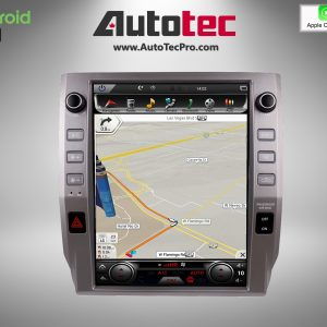 Toyota Tundra (2014 – 2021) 12.1″ PX6 HD Touch-Screen Android Navigation System | GPS | BT | WiFi | Camera | CarPlay