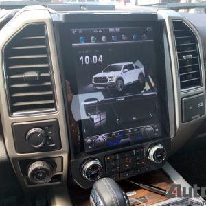 Ford F150 (2015 – 2020)  12.1″ IPS Touch-Screen Android Navigation System Android 9.0 | GPS | BT | Wifi | A2DP | SYNC