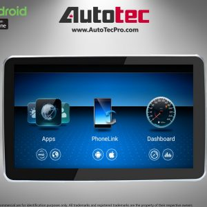 Mercedes-Benz GLE ( 2016-2018 ) Direct-Fit 9″ HD IPS Touch-Screen Android Navigation System | GPS | BT | Wifi | Camera | CarPlay