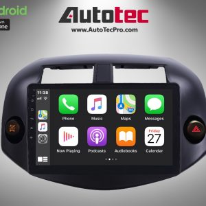 Toyota RAV4 (2006 – 2012) Direct-Fit 10.1″ HD Touch-Screen Android Navigation System   GPS   BT   Wifi   A2DP   CAMERA