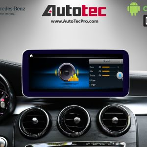 Mercedes-Benz C-Class (2015-2019 | W205) Direct-Fit 10.25″ HD IPS Touch-Screen Android Navigation System | GPS | BT | Wifi | 4G LTE | CarPlay