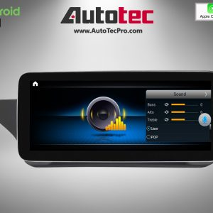 Mercedes-Benz E-Class (2010-2016 | W212) Direct-Fit 10.25″ / 12.3″ HD IPS Touch-Screen Android Navigation System | GPS | BT | Wifi | 4G LTE | CarPlay