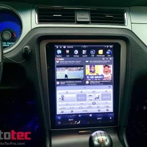 Ford Mustang (2010 – 2014)  12.1″ IPS HD Touch-Screen Android Navigation System | GPS | BT | Wifi | A2DP | CAMERA