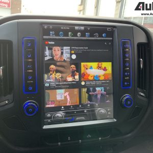 Chevrolet Silverado 12.1″ PX6 HD IPS Navigation and Infotainment System | GPS | WiFi | BT | OnStar | CarPlay | Android Auto