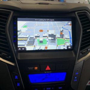 Hyundai Santa Fe / IX45 (2013 – 2018) OEM FIT HD Touch-Screen Android Navigation System | GPS | BT | Wifi | A2DP | CAMERA