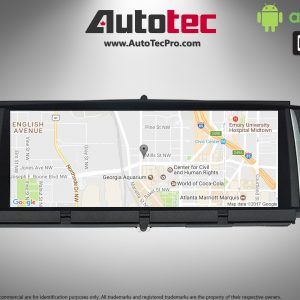 BMW X3 (2011 – 2017) F25 OEM FIT 10.25″ HD Touch-Screen Android Navigation System | GPS | BT | Wifi | A2DP | Camera | CarPlay