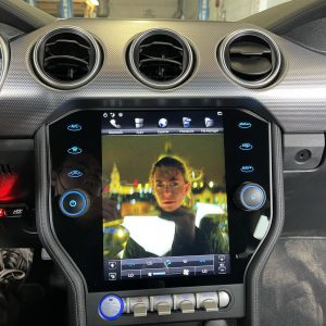 Ford Mustang (2015 – 2021) 10.4″ IPS HD Touch-Screen Android Navigation System | GPS | BT | Wifi | Camera | SYNC | 1080P