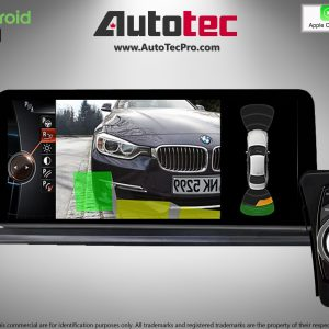 BMW 3 Series (2006 – 2012)  E90 / E91 / E92 OEM FIT 10.25″ HD Touch-Screen Android Navigation System | GPS | BT | Wifi | Camera | CarPlay