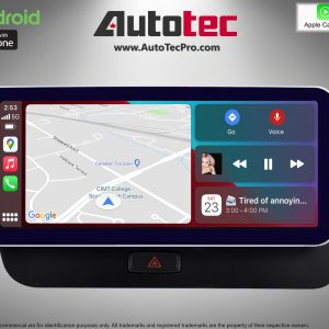 AUDI Q5 (2008 – 2018) OEM FIT 10.25″ / 12.3″ HD Touch-Screen Android Navigation System | GPS | BT | Wifi | Camera | CarPlay