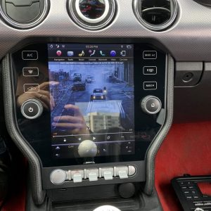 Ford Mustang (2015 – 2020) 10.4″ IPS HD Touch-Screen Android Navigation System | GPS | BT | Wifi | Camera | SYNC | 1080P