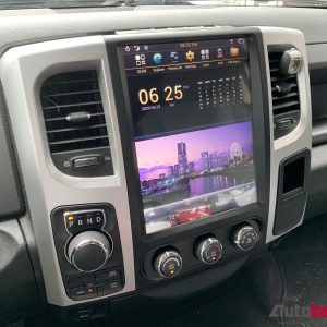 Dodge RAM (2013 – 2018) 12.1″ PX6 HD Tesla-Style Navigation & Infotainment System  | HD | GPS | BT | Wifi | CarPlay | Android Auto