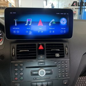 Mercedes-Benz C-Class (2008-2011 | W204) Direct-Fit 10.25″ / 12.3″ HD IPS Touch-Screen Android Navigation System | GPS | BT | Wifi | A2DP | 4G LTE | CarPlay