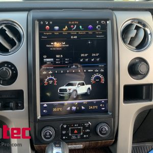 Ford F150 (2013 – 2014)  12.1″ IPS HD Touch-Screen Android Navigation System | GPS | BT | Wifi | A2DP | CarPlay
