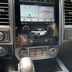 Ford F250 | F350 (2017 – 2020)  12.1″ IPS Touch-Screen Android Navigation System Android 9.0 | GPS | BT | Wifi | A2DP | SYNC