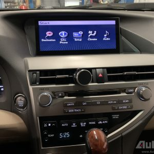 Lexus RX ( 2009- 2015 ) 10.25″ HD Touch-Screen Navigation & Infotainment System | GPS | BT | Wifi | A2DP | CAMERA